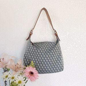 Authentic Dooney & Bourke Denim Handbag
